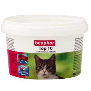 قرص مولتی ویتامین تاپ تن گربه بیفار