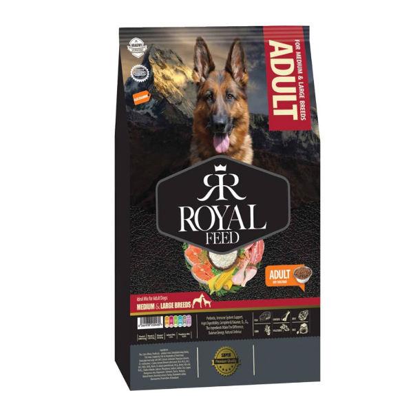 غذا خشک سگ رویال فید مخصوص سگ های بالغ نژاد بزرگ 3.0 کیلوگرم