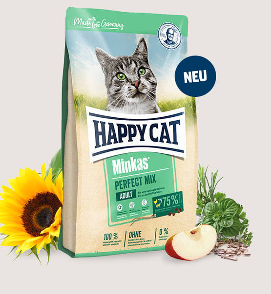 غذا خشک گربه بالغ هپی کت طعم میکس 10kg
