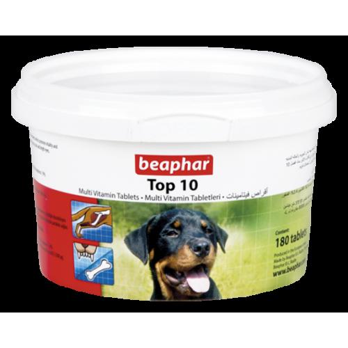 قرص مولتی ویتامین تاپ تن سگ بیفار