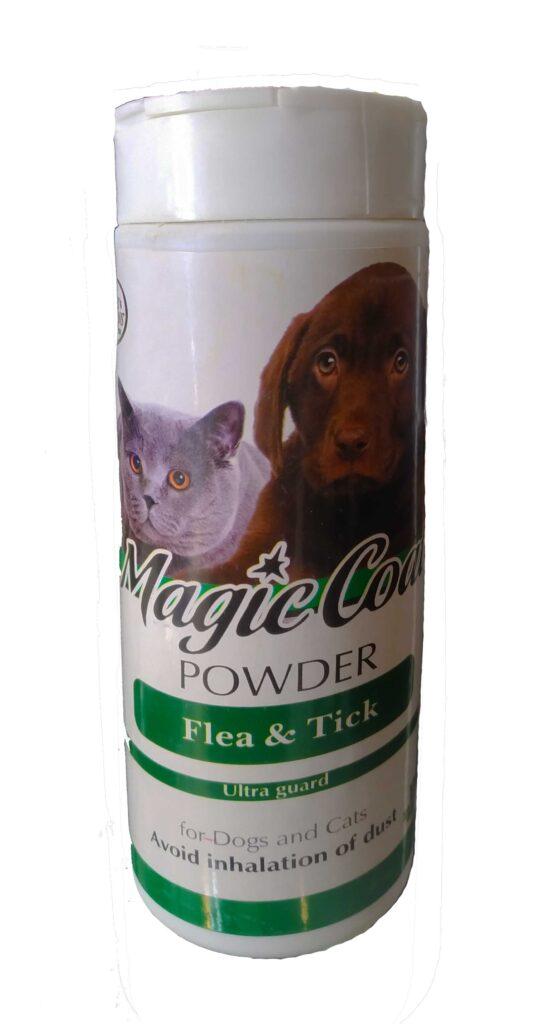 پودر ضد کک و کنه سگ و گربه Magic Coat