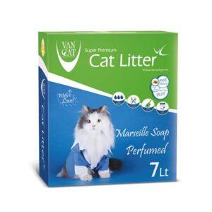 خاک گربه ون کت van cat رایحه صابون فرانسوی