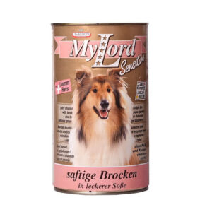 کنسرو سگ طعم بره وبرنج MYLORD
