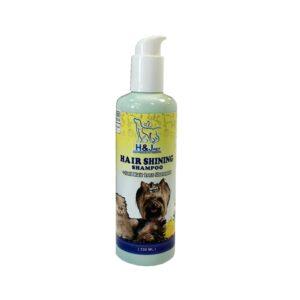 شامپو درخشان کننده و ضدریزش موی سگ وگربه H&J PET