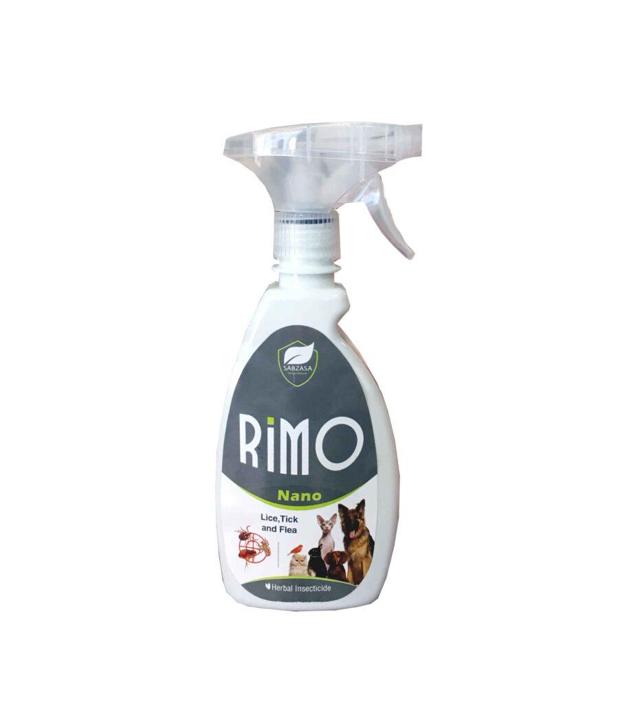 اسپری ضد کک و کنه سگ و گربه Rimo