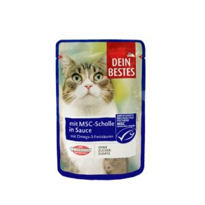 سوپ گربه طعم ماهی سالمون