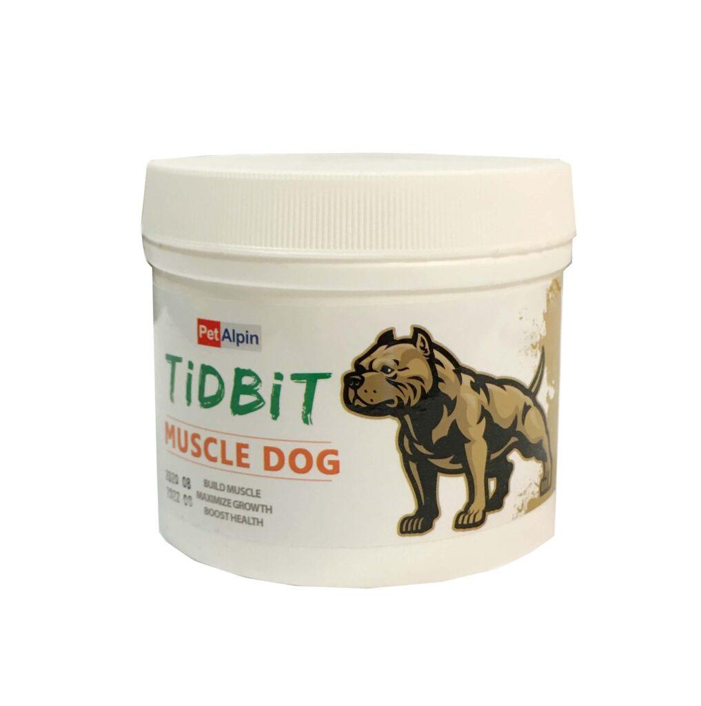 پودر پروتئین افزایش رشد و ماهیچه سازی سگ TiDBiT