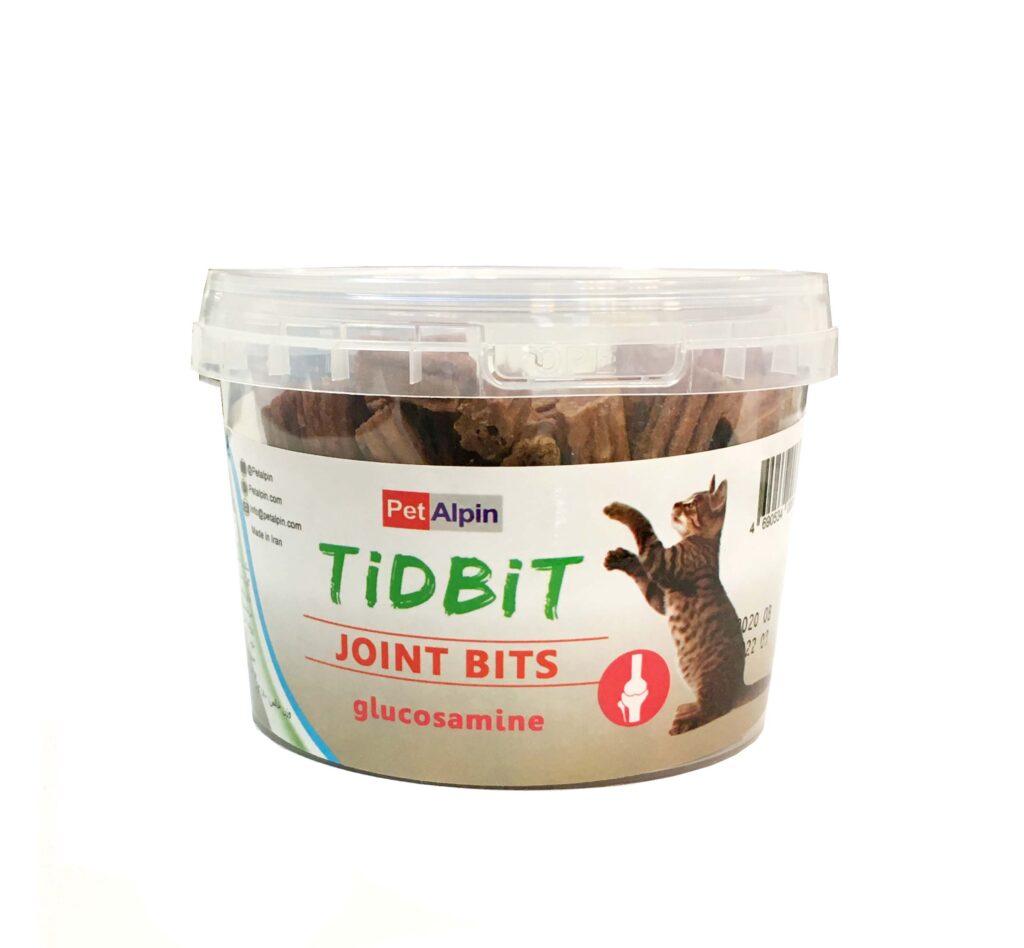 مکمل غذایی و تشویقی جهت مراقبت های مفصلی گربه TiDBiT