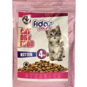 غذا خشک بچه گربه 4kg Fidar