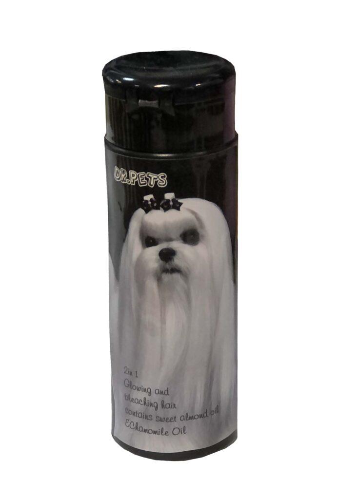 شامپو سگ موهای سفید Dr pets