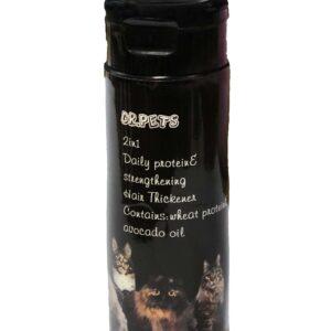 شامپو دارای نرم کننده مخصوص گربه Dr pets