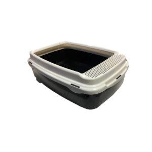 ظرف خاک و توالت گربه