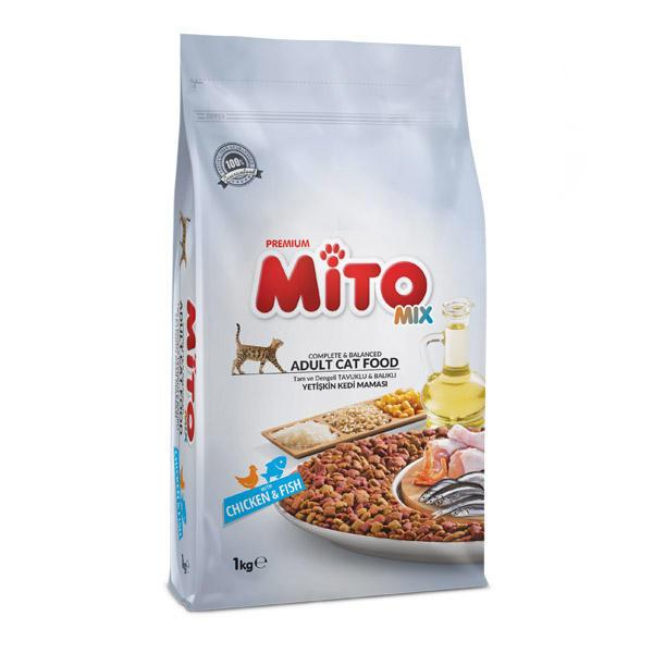 غذا خشک گربه میتو میکس  1kg Mito mix
