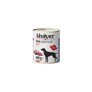کنسرو سگ 800 گرمی میکس شایر Shayer Mix