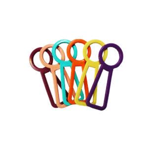 اسباب بازی دندانی سگ طرح قفل