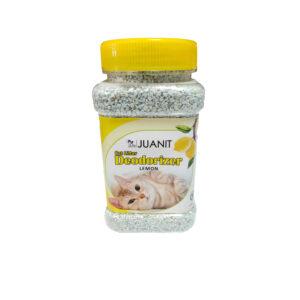 بو گیر و خوشبو کننده آنتی باکتریال خاک گربه JUANIT