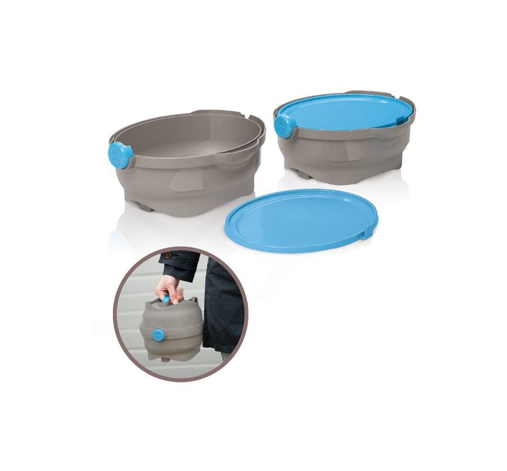ظرف آب و غذا همراه مسافرتی سگ و گربه ایماک Imac